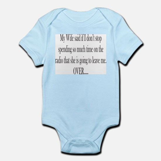 My Wife said Infant Bodysuit