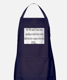 My Wife said Apron (dark)
