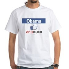 Pro Obama t-shirt Facebook likes