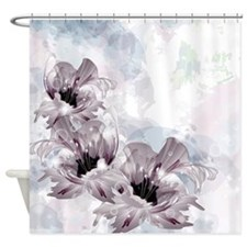 Artistic Flowers Shower Curtain