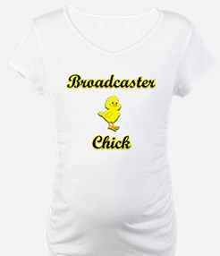 Broadcaster Chick Shirt
