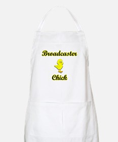 Broadcaster Chick Apron