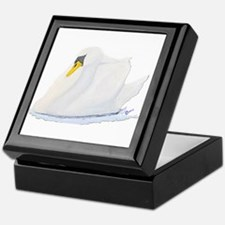 Graceful Swan Keepsake Box