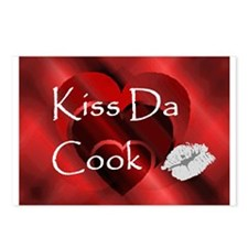Kiss Da Cook Postcards (Package of 8)
