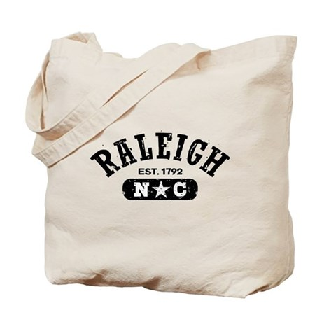 Raleigh NC Tote Bag