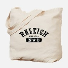 Raleigh NC Tote Bag