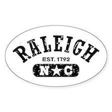 Raleigh NC Decal