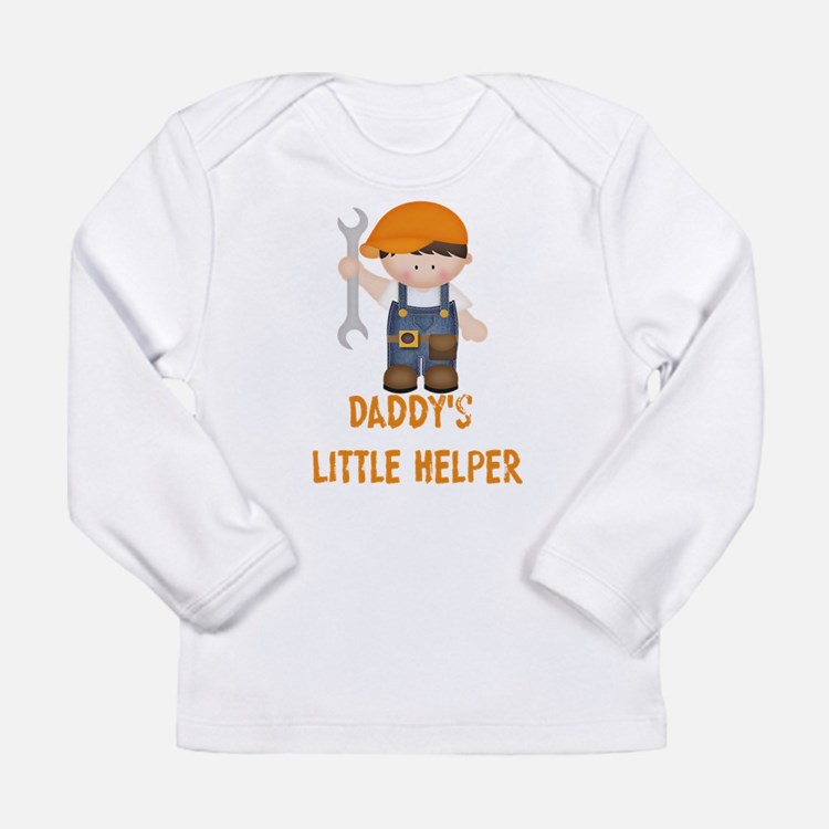 Daddys Little Helper Long Sleeve Infant T-Shirt