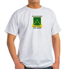 SSI - 2nd Battalion, 70th Armor with Text T-Shirt