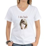 Hairstylist Women's V-Neck T-Shirt