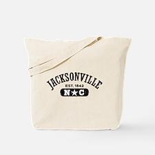 Jacksonville NC Tote Bag