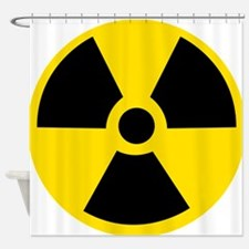 Radioactive Symbol Shower Curtain