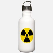 Radioactive Symbol Sports Water Bottle