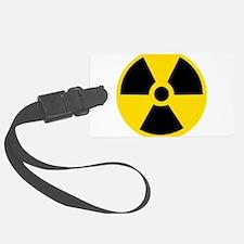 Radioactive Symbol Luggage Tag
