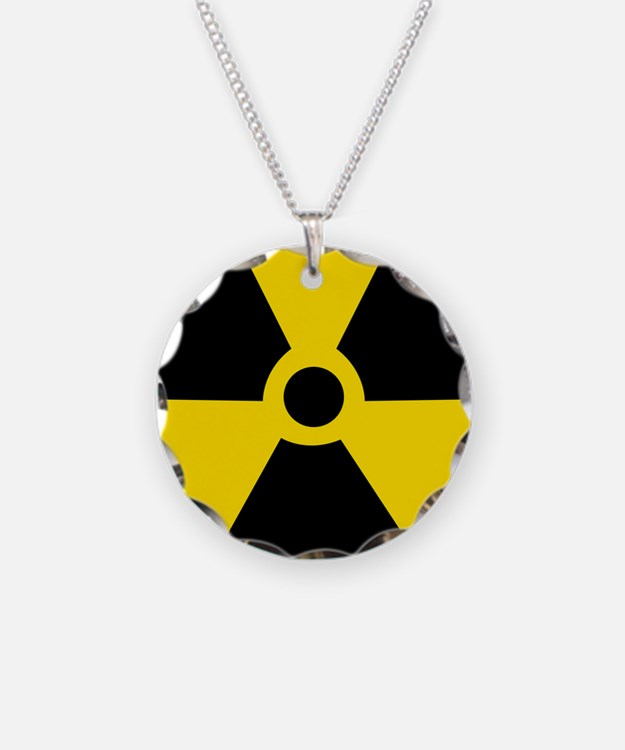 Radioactive Symbol Necklace