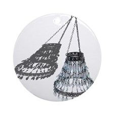 Chandelier with Shadow Ornament (Round)