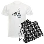 Chandelier with Shadow Men's Light Pajamas