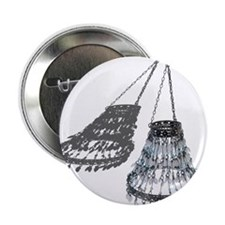 """Chandelier with Shadow 2.25"""" Button"""