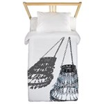 Chandelier with Shadow Twin Duvet