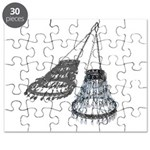 Chandelier with Shadow Puzzle