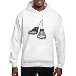 Chandelier with Shadow Hooded Sweatshirt