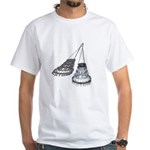 Chandelier with Shadow White T-Shirt