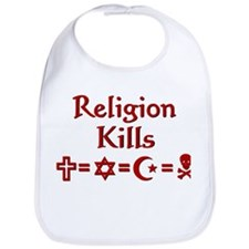 Religion Kills Bib