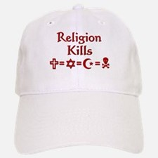 Religion Kills Baseball Baseball Cap
