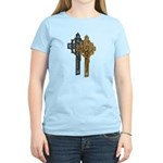 Crucifix on Side Women's Light T-Shirt