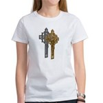 Crucifix on Side Women's T-Shirt