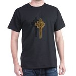 Crucifix on Side Dark T-Shirt