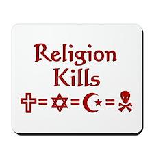 Religion Kills Mousepad