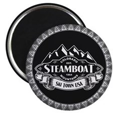 Steamboat Mountain Emblem Magnet