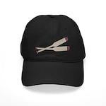 Brown Oars Black Cap