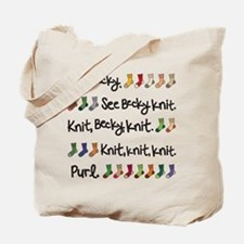 See Becky Knit Tote