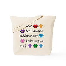 See Susan Knit Tote