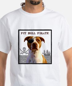 Pit Bull Pirate Shirt