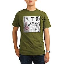Cute 70th birthday T-Shirt
