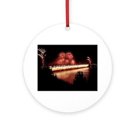 Fireworks - 75th Anniversary Golden Gate Ornament