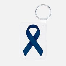 Blue Ribbon Keychains