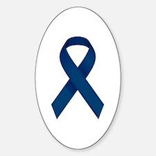 Blue Ribbon Decal