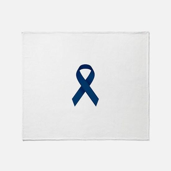 Blue Ribbon Throw Blanket
