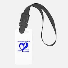 Blue Ribbon Luggage Tag