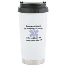 Paramedic-Nurse Travel Mug