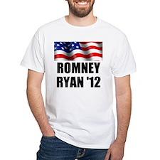 Romney Ryan 12, Waving Flag Shirt