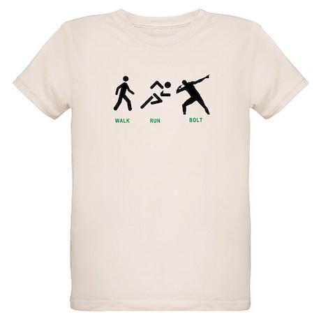 Bolt Jamaica Organic Kids T-Shirt