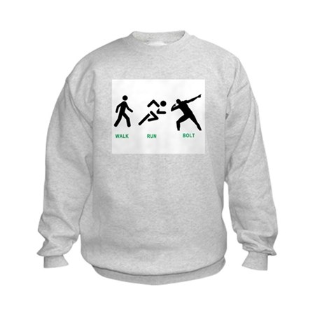 Bolt Jamaica Kids Sweatshirt