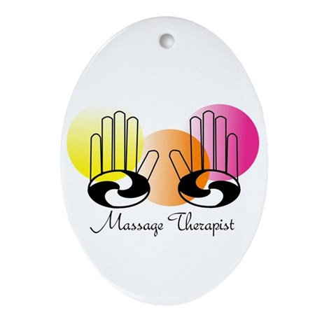 MassageTherapist 2012.PNG Ornament (Oval)