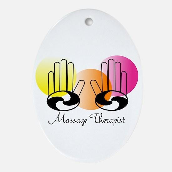 MassageTherapist 2012.PNG Ornament (Oval)