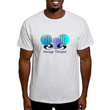 Massage Therapist blue.PNG T-Shirt